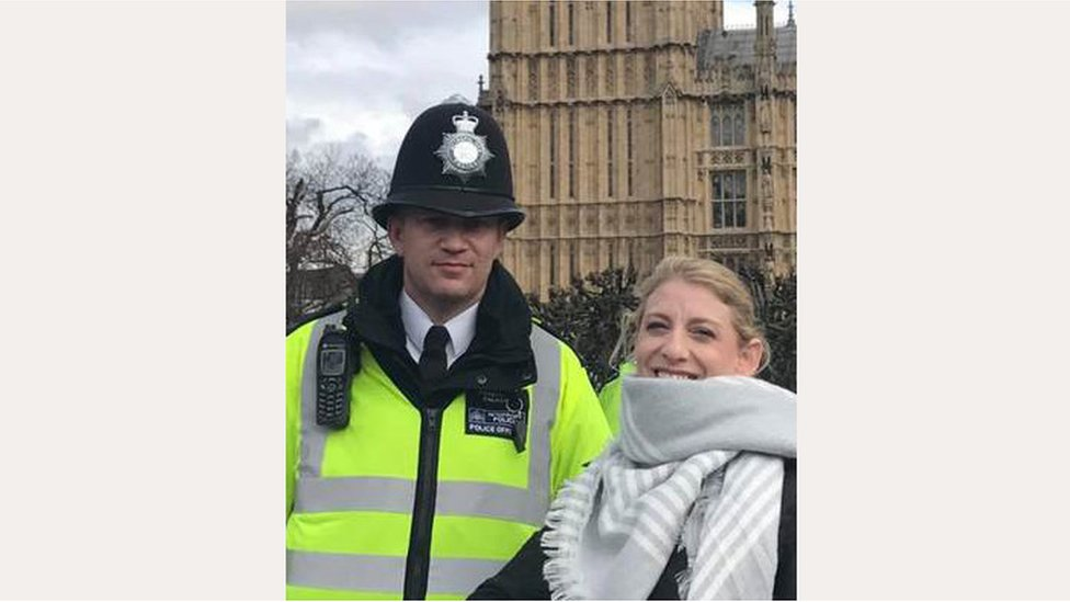 London attack: 'Final' photo of killed PC Keith Palmer emerges