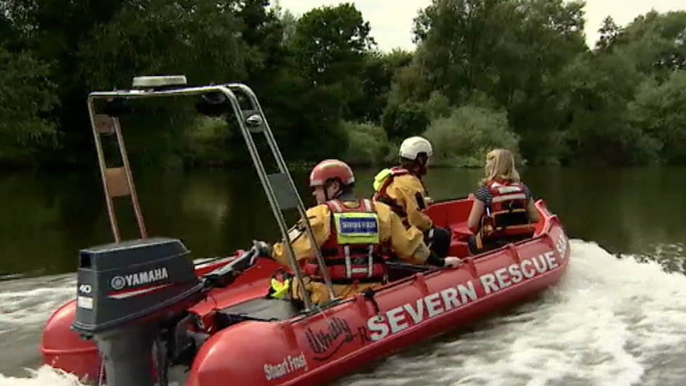 'Just don't go in', water safety experts advise