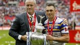 Brian McDermott and Kevin Sinfield