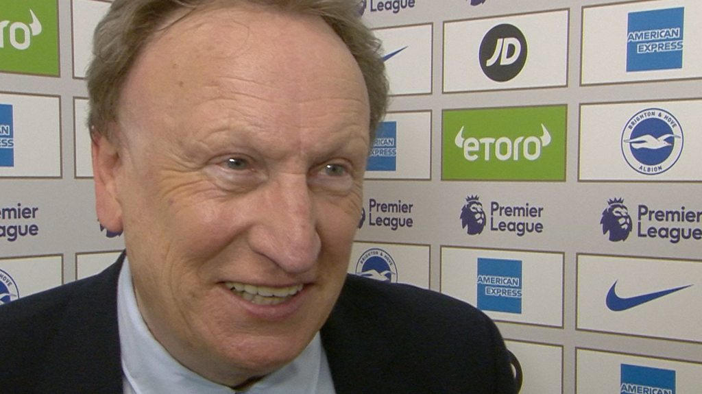 Brighton 0-2 Cardiff: Neil Warnock says Bluebirds are alive and kicking