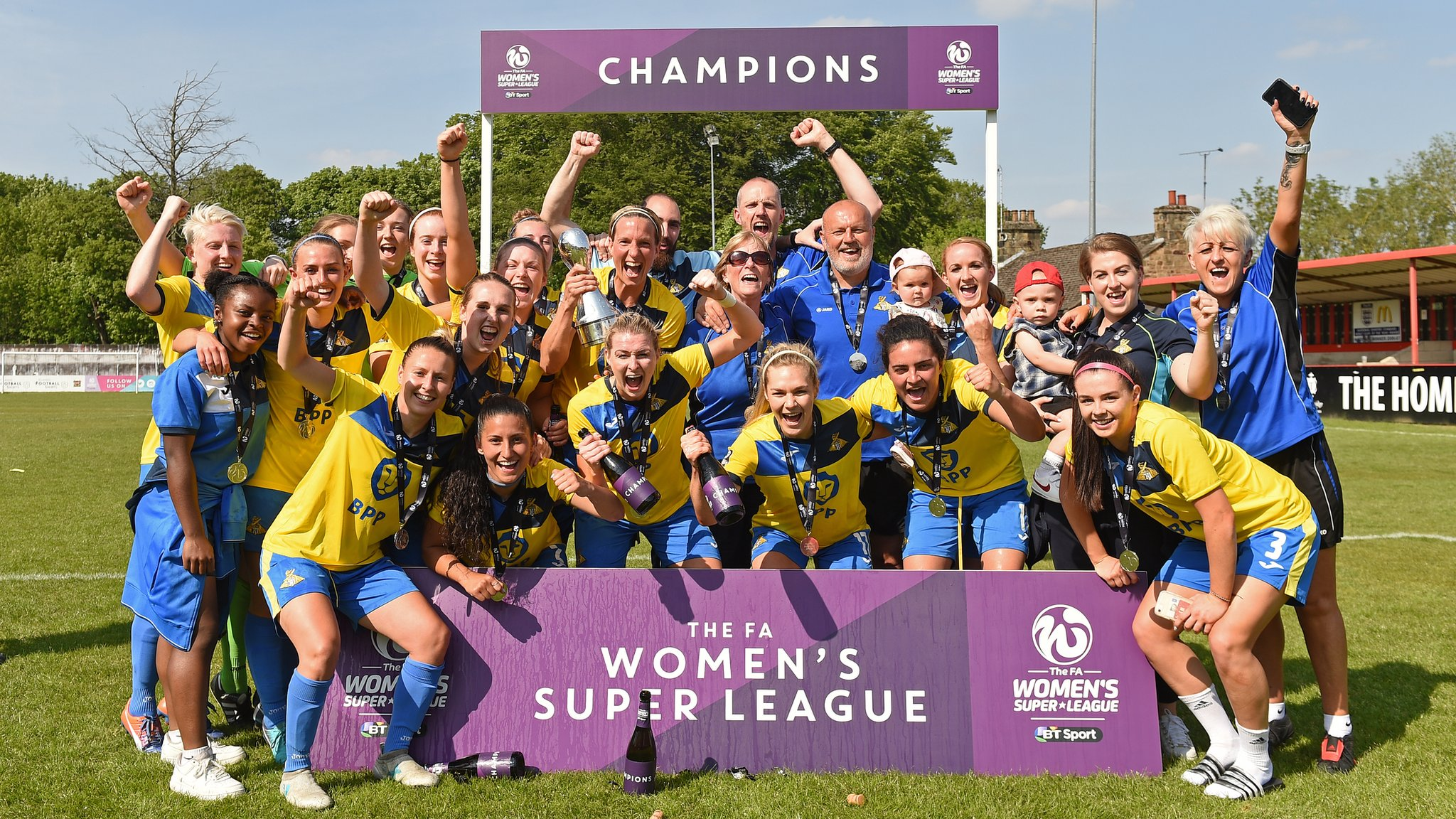 Doncaster Rovers Belles: WSL 2 champions discuss merger with men's club | BBC