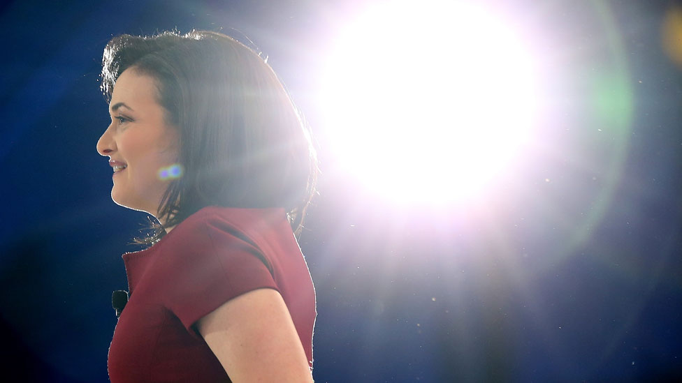 How the star of Facebook's Sheryl Sandberg dimmed