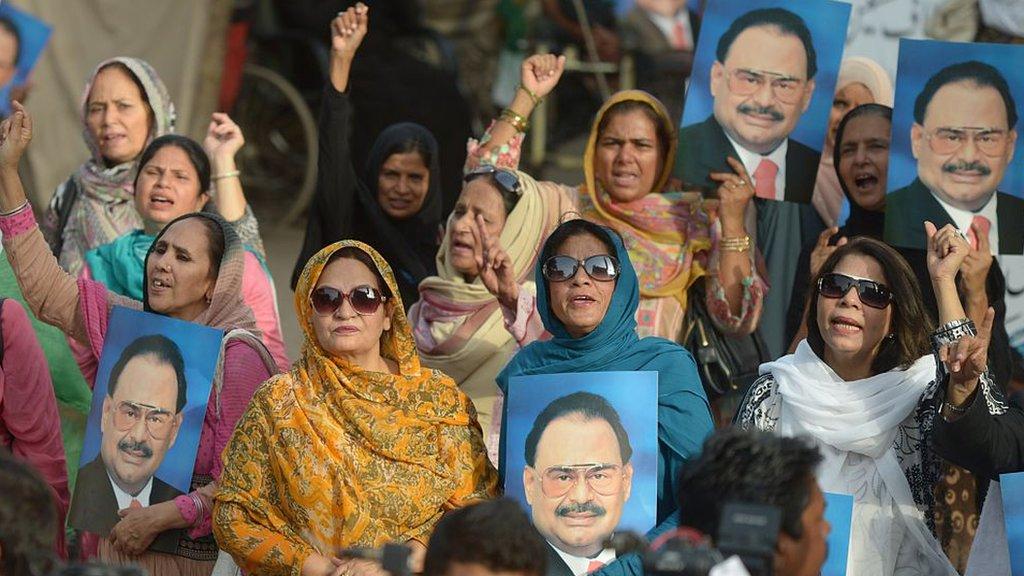 الطاف حسین: پاکستان کې په لوی لاس پښتانه ځپل کېږي