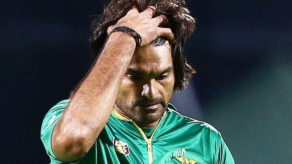 Pakistan bowler Irfan banned for a year following spot-fixing investigation