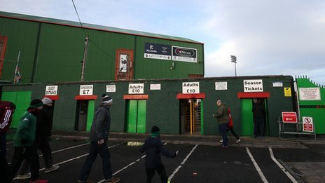 The Oval in East Belfast