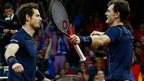 GB lead after Murrays win doubles