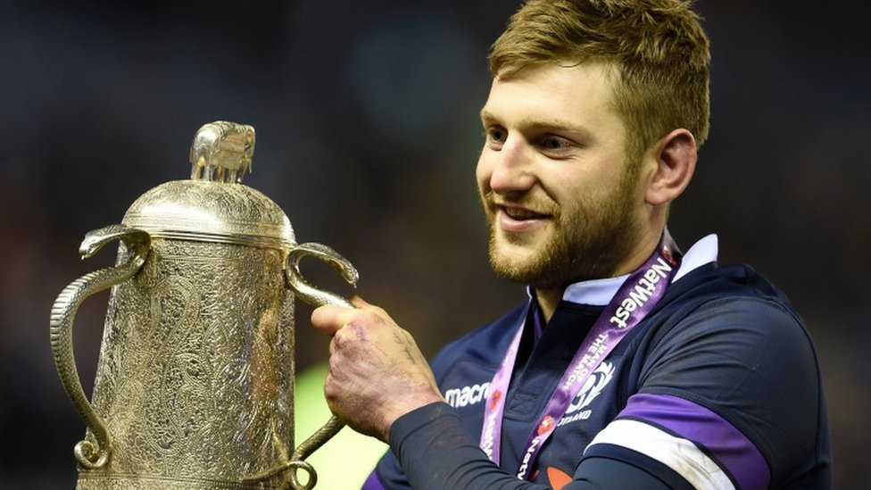 Six Nations: Scotland have chance of title after England win - Finn Russell