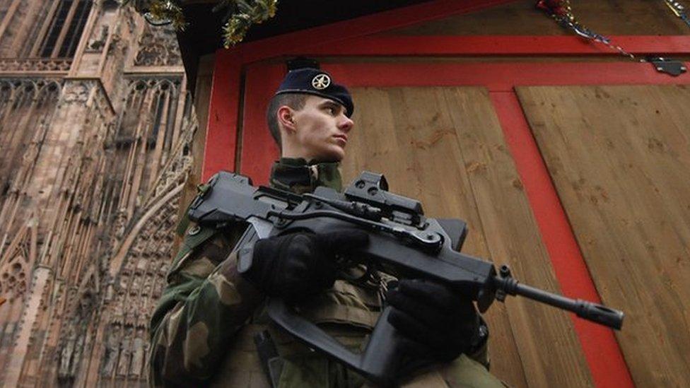 Strasbourg shooting: Gunman shouted 'Allahu Akbar' as he attacked