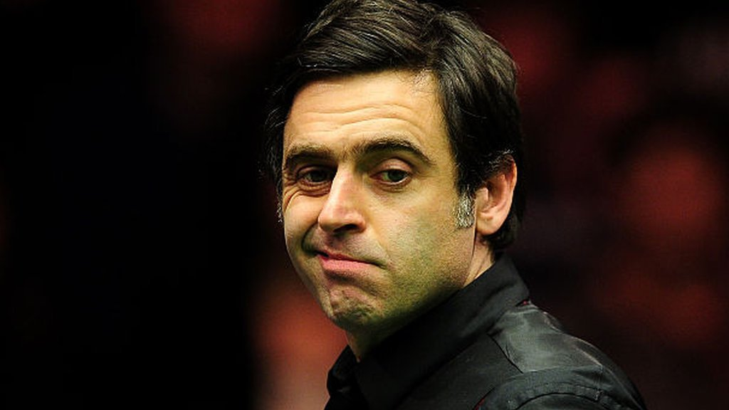 Ronnie O'Sullivan says he is 'not good enough' to compete with world's best