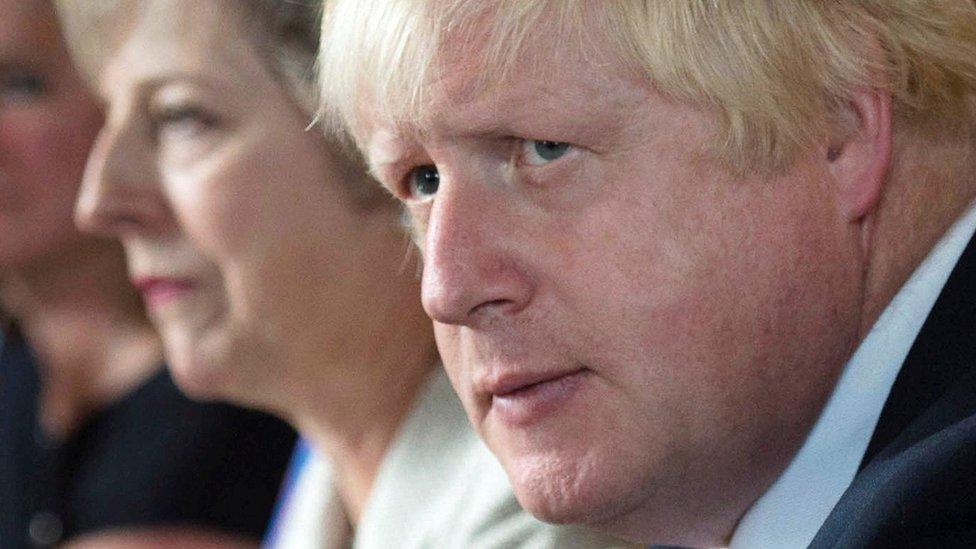 Boris Johnson compares Chequers deal to 'suicide vest'