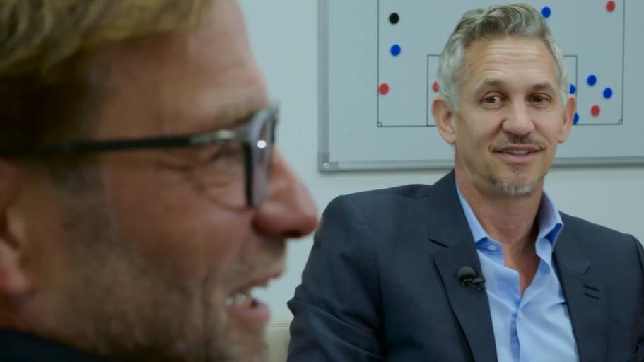 Gary Lineker on meeting Liverpool boss Jurgen Klopp for The Premier League Show