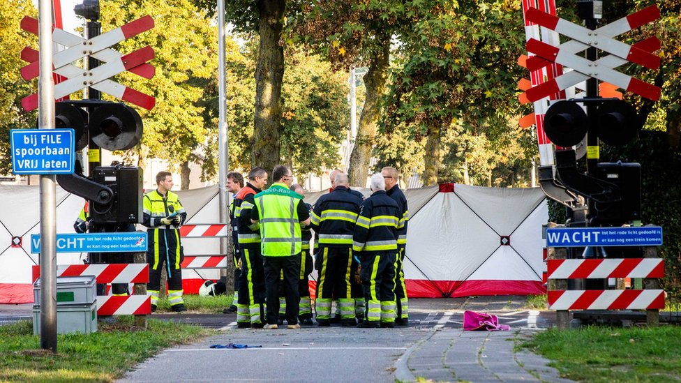 Dutch rail crash: Four children killed in electric cart