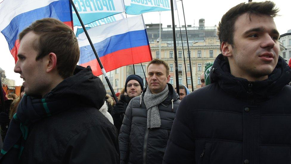 Сторонники Навального проводят акции протеста в городах России