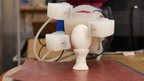3D printed robotic silicone hands made by Massachusetts Institute of Technology (MIT)