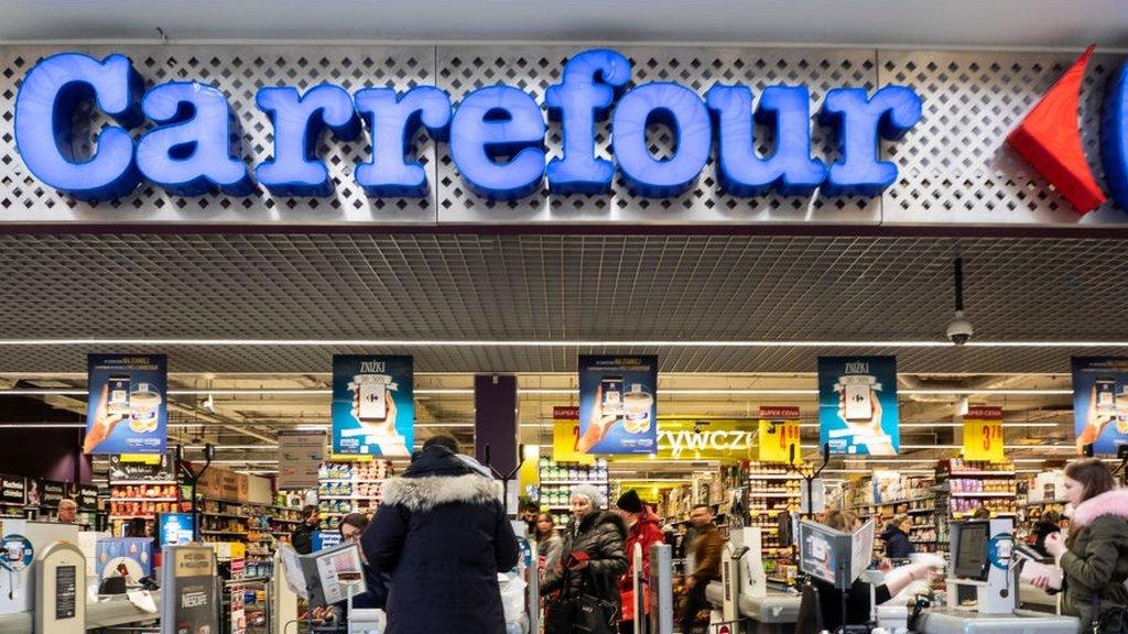Carrefour denies making bid approach for Casino
