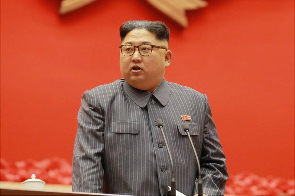Kim Jong-un, líder de Corea del Norte, asegura que seguirá con su programa nuclear en 2018. Foto: AFP/KCNA via KNS.