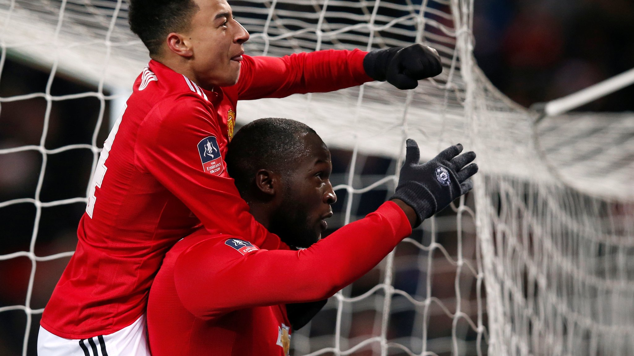 Man Utd defeat Brighton to reach last four of FA Cup