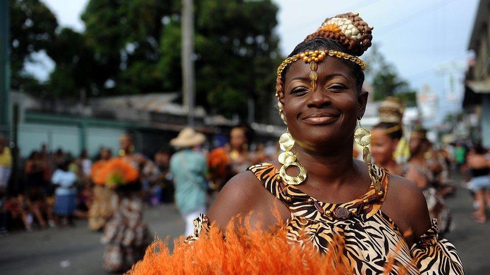 Celebraciones de la cultura afro en Costa Rica