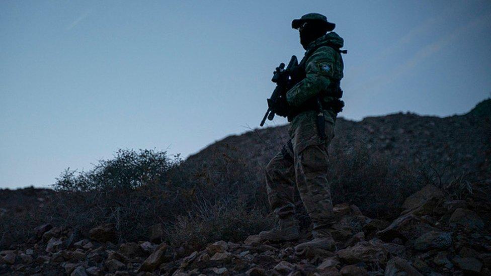 US arrests 'member of border militia' in New Mexico