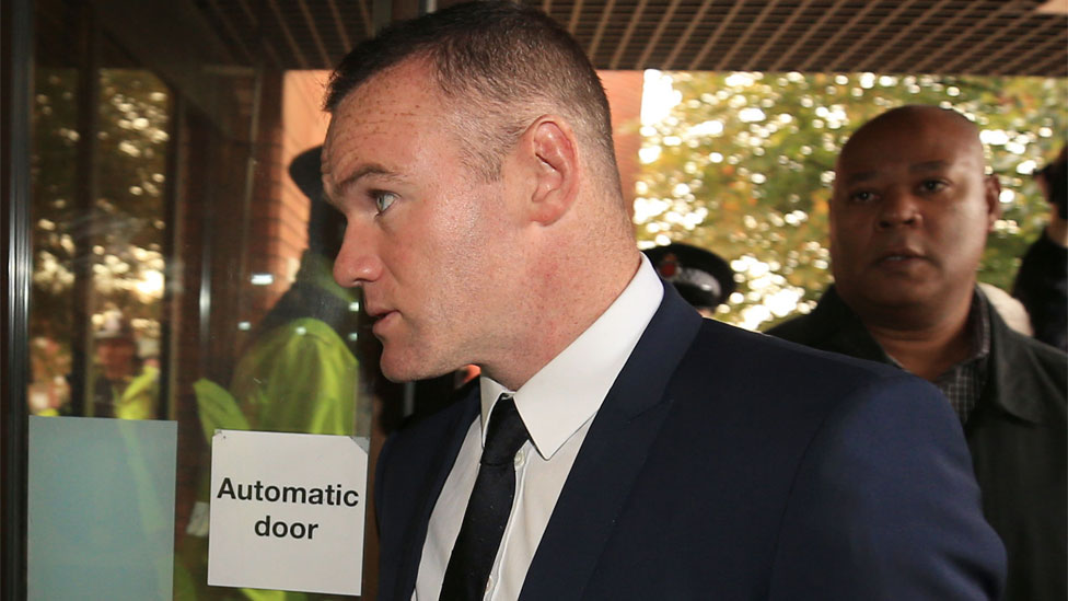 Rooney apologises after admitting drink-drive charge