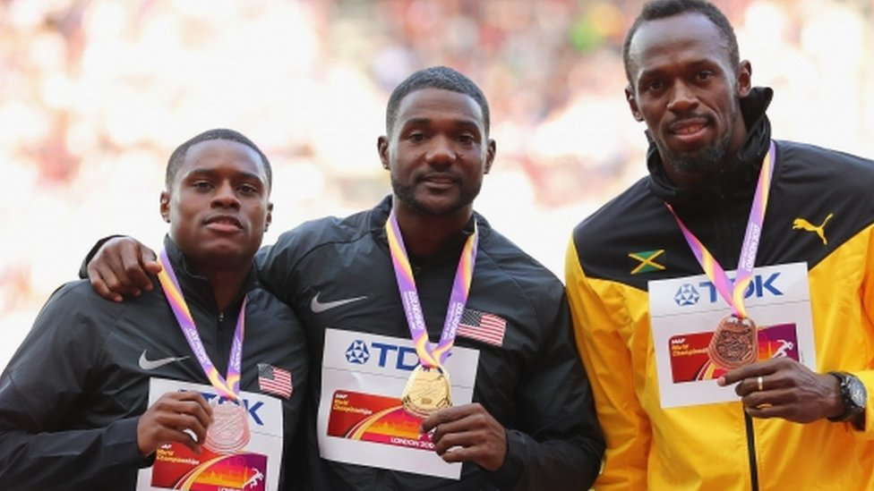 'Gatlin win not the perfect script'