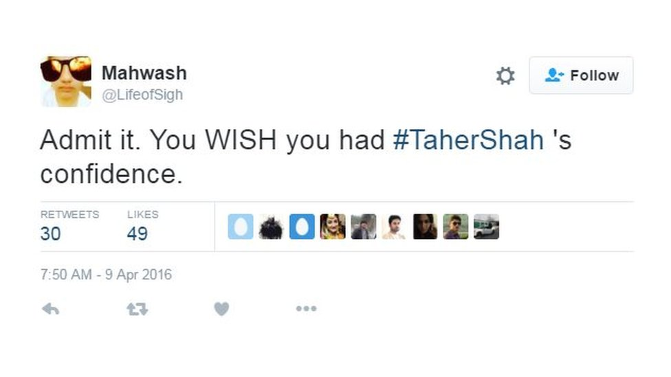 Admit it you wish you had #TaherShah's confidence