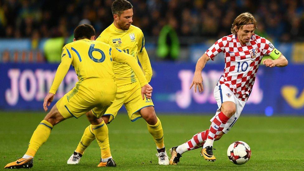 Україна програла Хорватії і не поїде на Чемпіонат світу