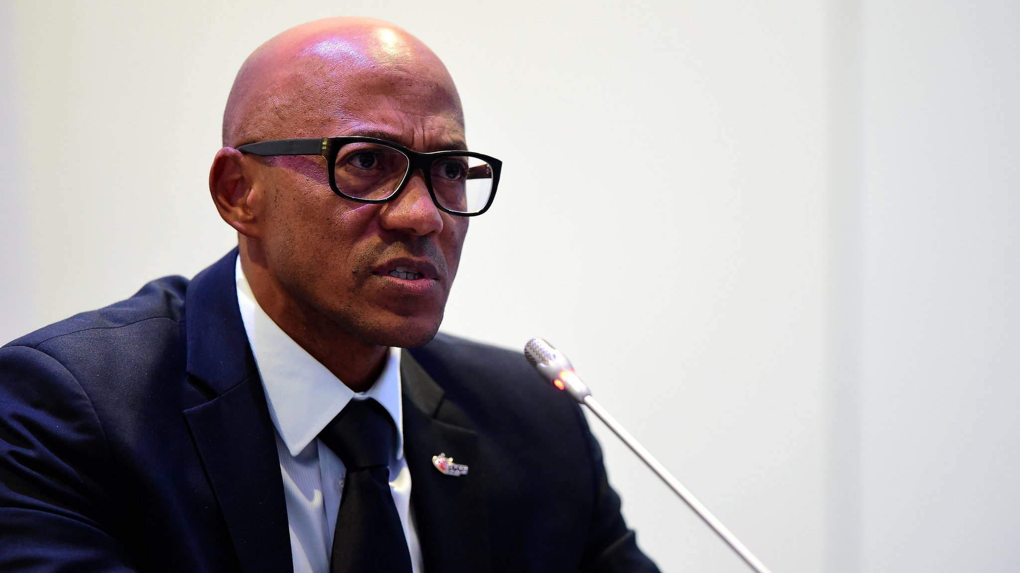 Four-time Olympic medallist Fredericks suspended by IOC