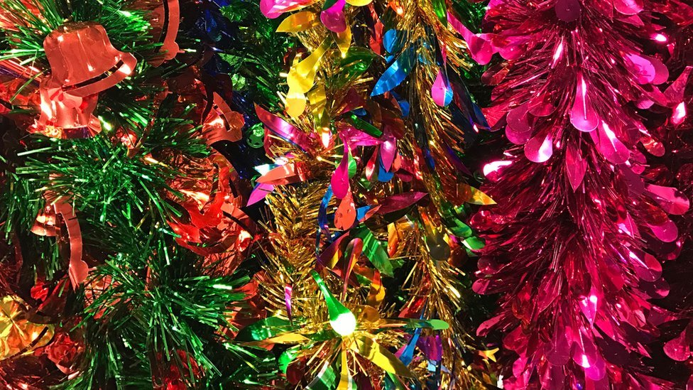 Where Does Tinsel Come From Cbbc Newsround
