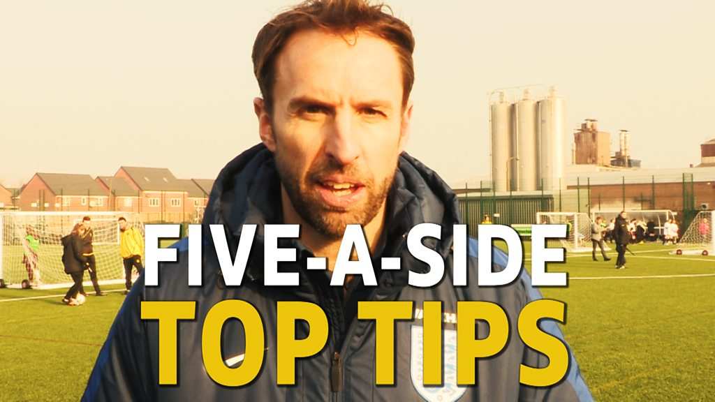 FA People's Cup: Gareth Southgate's top tips for five-a-side football