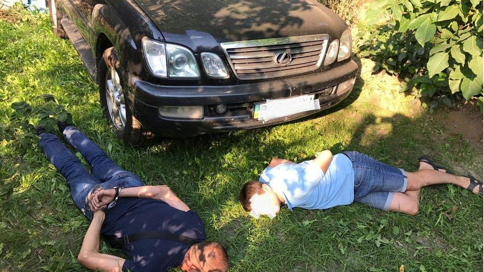 Нацполіція знайшла викрадене службове авто