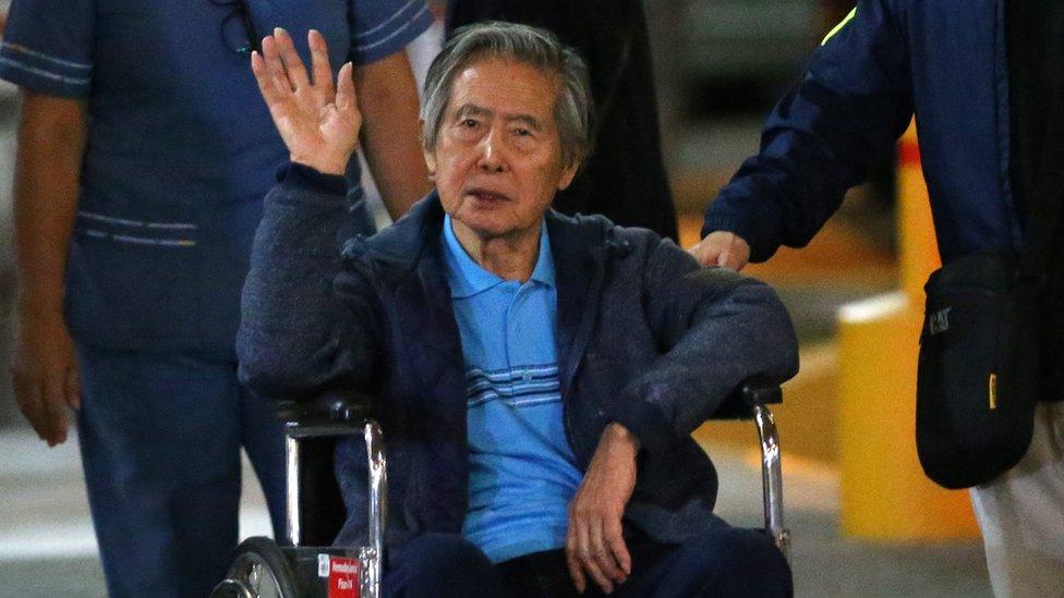 Peru ex-leader Fujimori a free man after pardon
