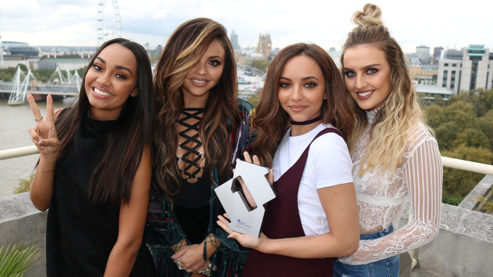 Little Mix score fourth UK number one