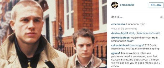 Emmanuel Emenike instagram