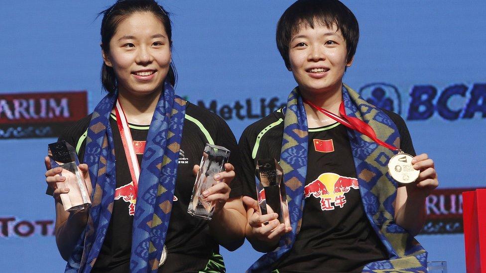 Chen Qingchen/Jia Yifan, cina, indonesia open, badminton