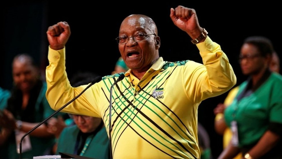 ANC: Zuma pleads for unity as party picks new leader