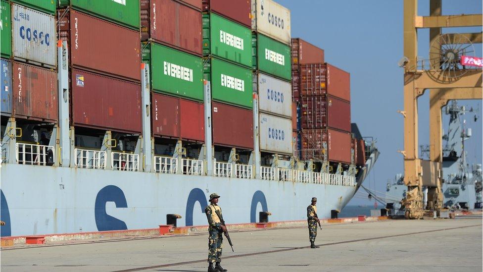 位於巴基斯坦的瓜達爾港