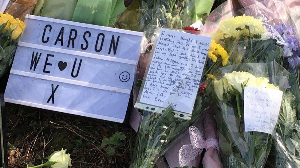 Carson Price: Park vigil held after teen's drugs death