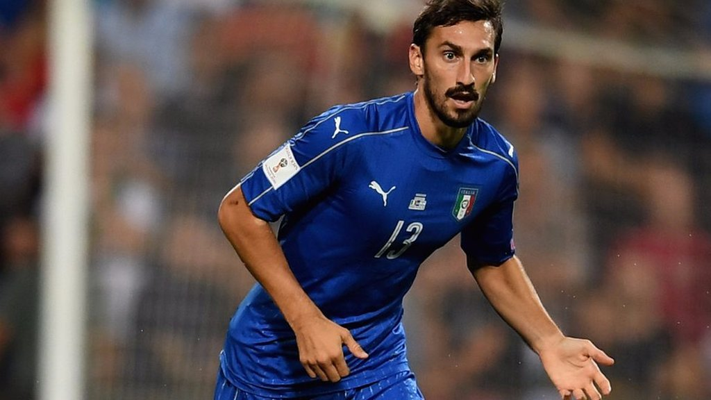 Davide Astori: Former Italy boss Conte pays tribute to 'really good guy' Astori