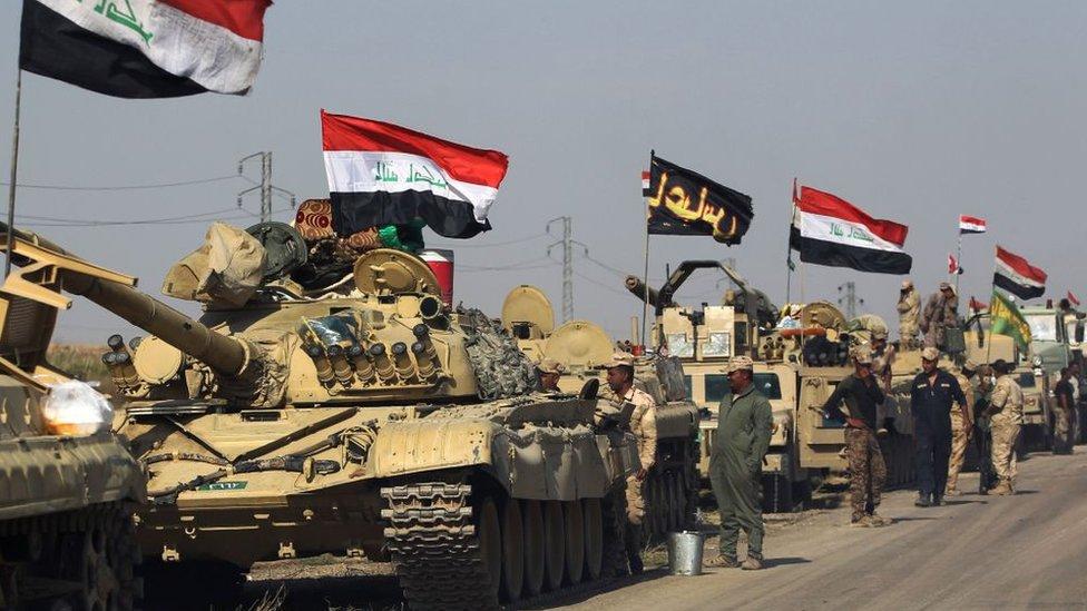 Irak no reconoció el referéndum separatista y amenazó con tomar por la fuerza el territorio del Kurdistán.