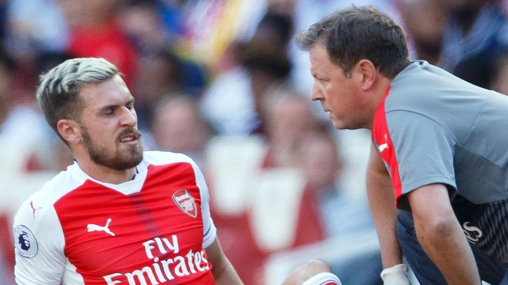 Aaron Ramsey injury 'preventable', says Wales manager Chris Coleman