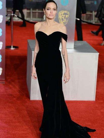 انجلينا جولي على السجادة الحمراء
