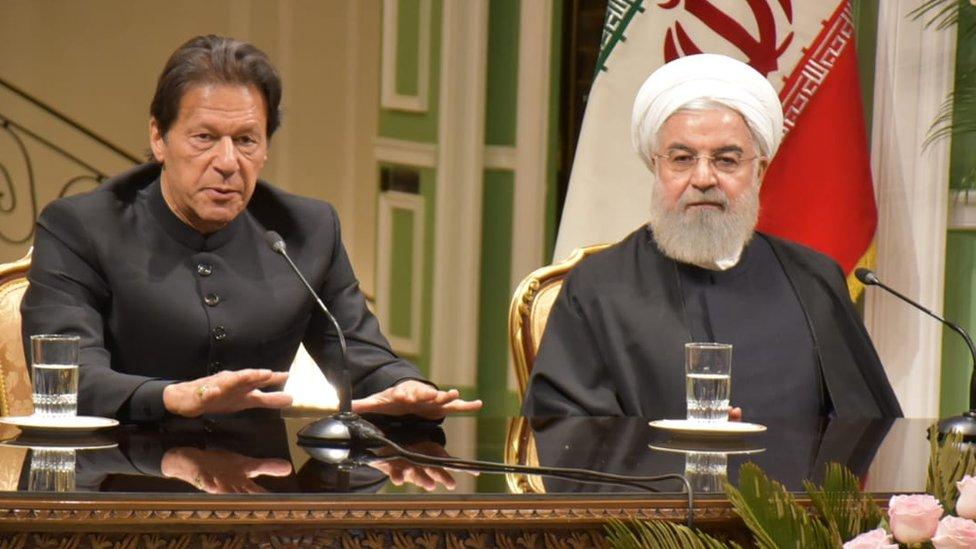 عمران خان ایران میں: 'ہم اپنی سرزمین سے آپ کو کوئی نقصان نہیں پہنچنے دیں گے'