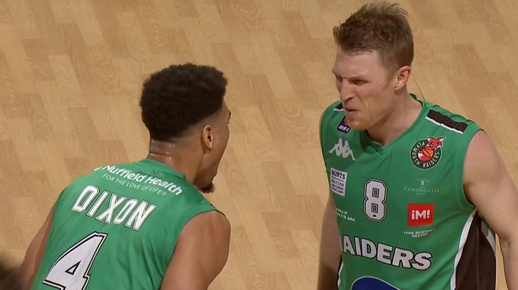 BBL: Plymouth Raiders easily beat Bristol Flyers - five best shots