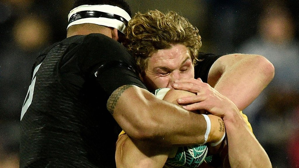Bledisloe Cup: New Zealand beat Australia 29-9 in Rugby Championship