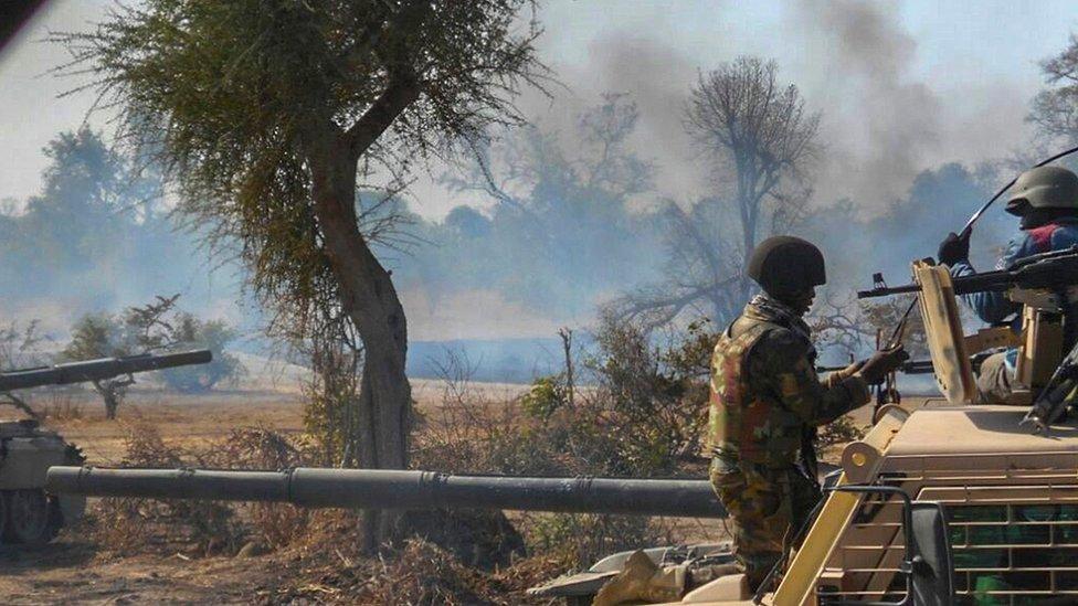 غابة سامبيسا معقل بوكو حرام
