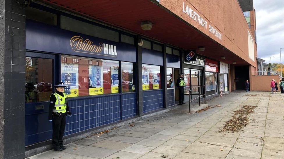 Man charged after Aberdeen bookmaker raids
