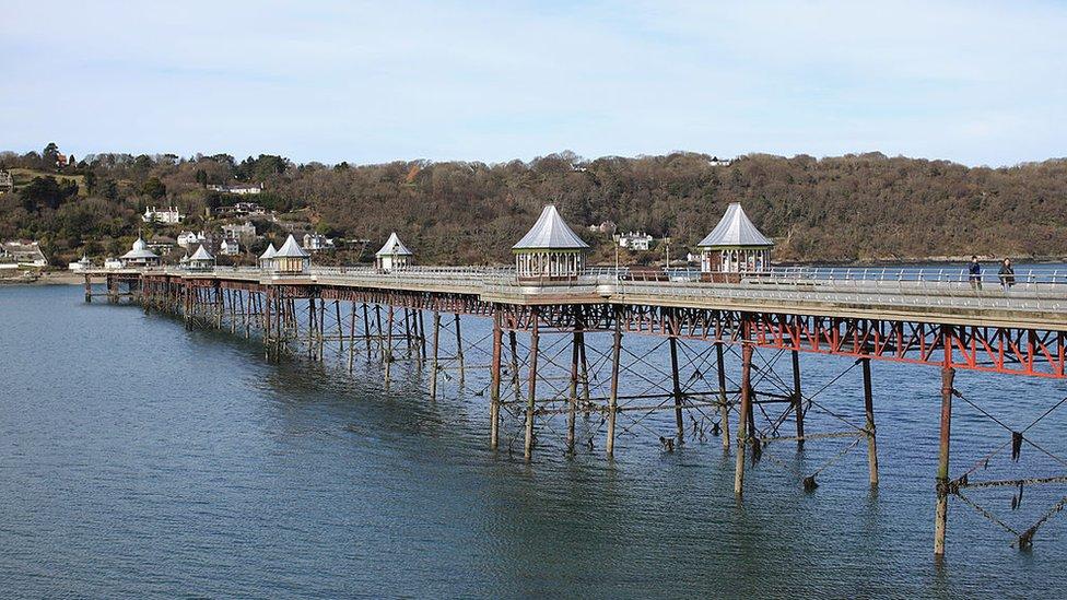 Bangor's Garth Pier restoration fund £600,000 short