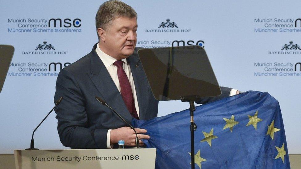 Порошенко назвав Україну щитом Європи