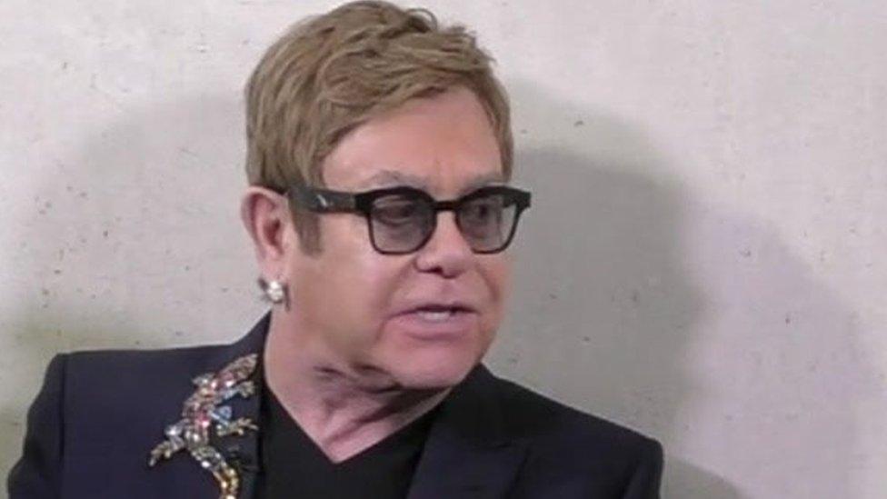 Elton John: HIV 'end in sight' in West